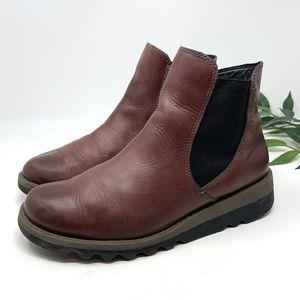 Josef Seibel Waterproof Leather Ankle Boot 37